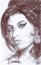 Portret Amy Winehouse